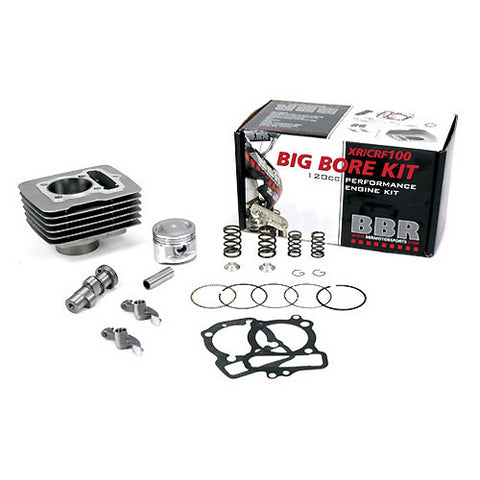 BBR Big Bore Kit with Cam for Honda XR100R/CRF100F - 58.00mm  - 411-HXR-1001