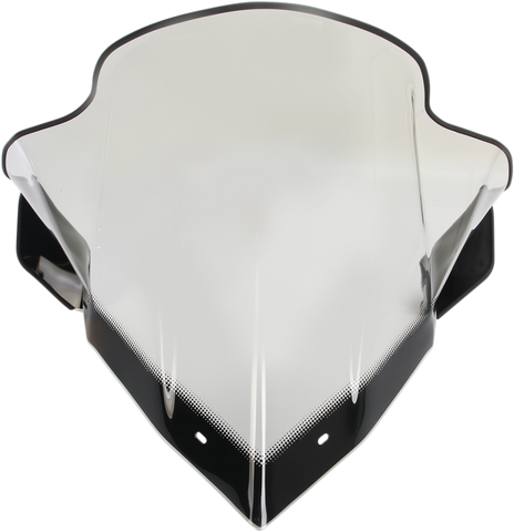 Sno-Stuff 450-188 - 17.5 Inch Smoke Windshield for 2012-18 Arctic Cat Models