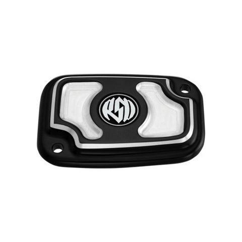 Cafe Front Brake Master Cylinder Cover for Harley-Davidson - 0208-2114-BM