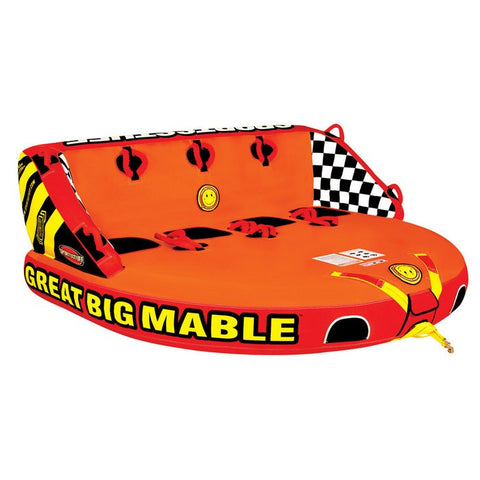 SportsStuff Great Big Mable Inflatable Quadruple Rider Towable - 53-2218