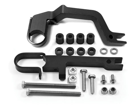 PowerMadd Stealth Brake Mount Kit for Sentinel Fuzion Handguards - 34456