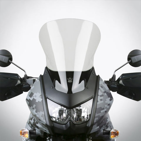 National Cycle N20113 - VStream Sport/Tour Windscreen for Kawasaki KLR650 - Light Gray