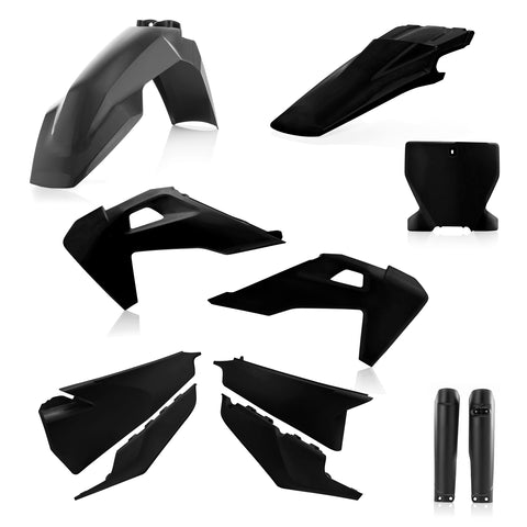 Acerbis Full Plastic Kit for Husqvarna models - Black - 2726550001