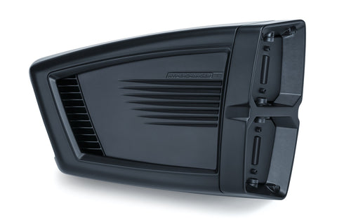 Kuryakyn 9354 Hypercharger ES Air Cleaner for 2001-17 Harley FXD / FXH - Powder-coated Black