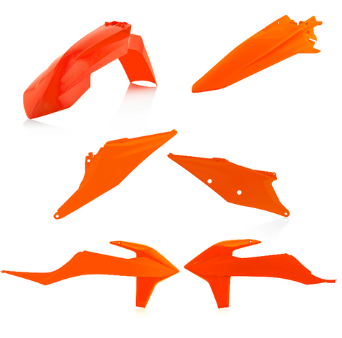 Acerbis Standard Plastic Kit for KTM models - 16 Orange - 2791566812
