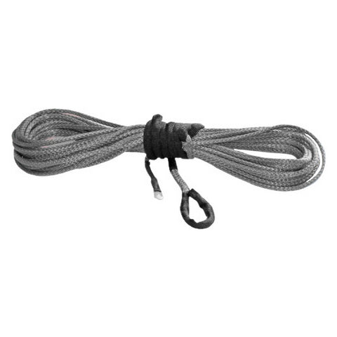 KFI Products Synthetic Winch Line - 15/64in x 38 Feet - Smoke - SYN23-S38