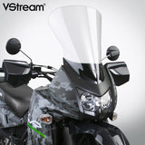 National Cycle N20114 - VStream Touring Windscreen for '08-17 Kawasaki KLR650 - Clear