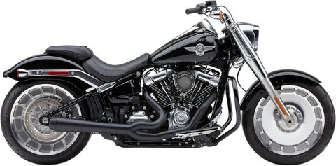 Cobra El Diablo Exhaust for 2018-19 Harley FLFB / FXBR - Black - 6475B