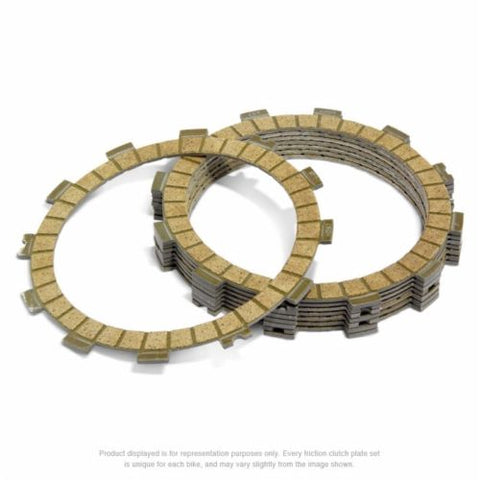 Pro-X Racing 16.S23017 Clutch Friction Plates for Yamaha YZ250F / WR250F