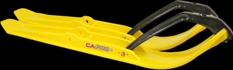 C&A Pro XPT Snowmobile Skis - Yellow - 77170420