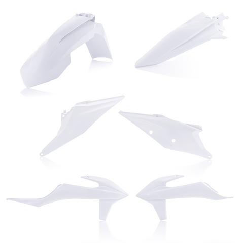 Acerbis Standard Plastic Kit for KTM models - 20 White - 2791566811
