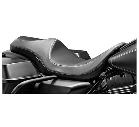 LePera Villain 1-Piece Seat for 2007-19 Harley FLH models - Smooth - LK-817