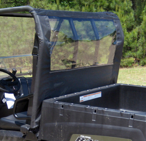 Seizmik 04016 Soft Rear Dust & Window Panel for Polaris Midsize Ranger