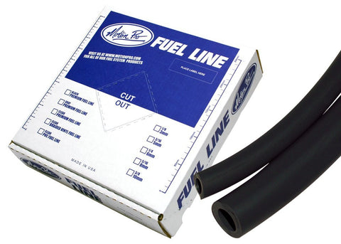 "Motion Pro Tygon Black Premium Fuel Line 1/4""  x 25'"