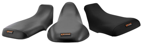 Quadworks Quadworks 31-43500-01 Gripper Black Seat Cover for 2000-06 Yamaha YFM400 BB