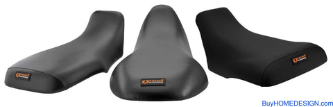 Quadworks QuadWorks 31-42599-01 Seat Cover for Yamaha YFM250 BearTracker (Gripper-Black)