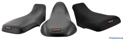 Quadworks Quadworks 31-46098-01 Gripper Black Seat Cover for 1997-01 Yamaha YFM600 Grizzly