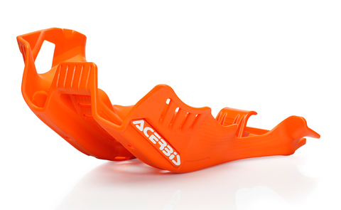 Acerbis Offroad Skid Plate for 2020-21 KTM TPI models - 16 Orange - 2780575226
