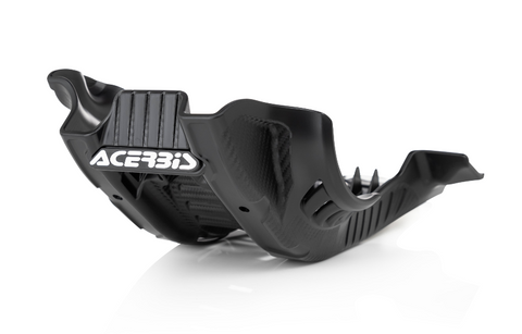 Acerbis Offroad Skid Plate for Gas Gas / Husqvarna models - Black/White - 2791651007