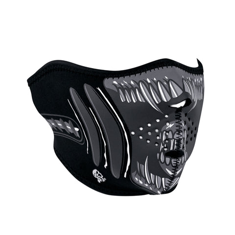 ZAN HeadGear Neoprene Half Face Mask - Alien - WNFM039H