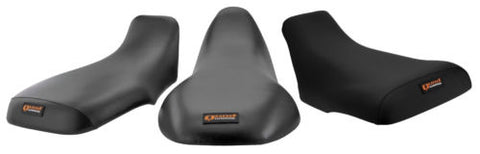 Quadworks 31-12502-01 Gripper Black Seat Cover for 2001-05 Honda TRX250EX
