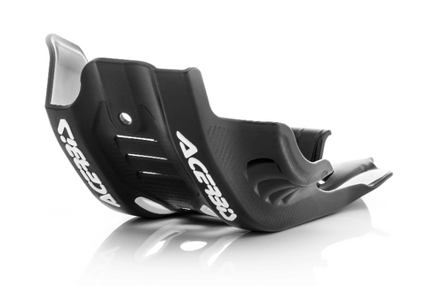 Acerbis Offroad Skid Plate for 2020-21 Husqvarna models - Black/White - 2791661007