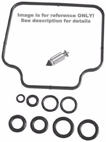 K&L Supply K&L Supply 18-2587 Carburetor Repair Kit for 1996-02 Honda CR80R