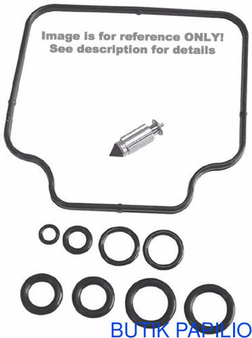 K&L Supply K&L Supply 18-9387 Carb Repair Kit for 1998-01 Yamaha YFM600F Grizzly
