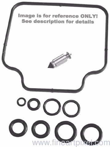 K&L Supply K&L Supply 18-2610 Carb Repair Kit for 1979-80 Kawasaki KZ1000 Models