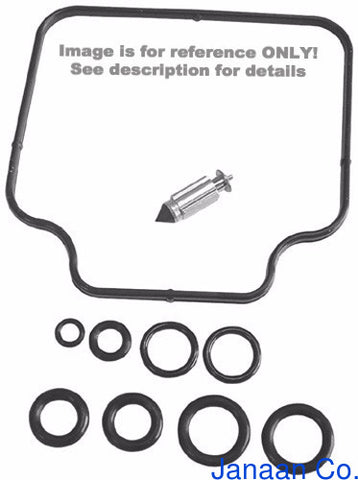 K&L Supply K&L Supply 18-2584 Carburetor Repair Kit for 1981-83 Suzuki GS650 Models