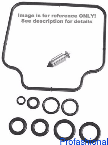 K&L Supply K&L Supply 18-2685 Carburetor Repair Kit for 1987-2002 Kawasaki KSF250 Mojave
