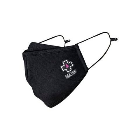 Muc-Off Reusable Facemask - Black - Large