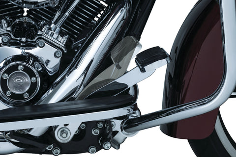 Kuryakyn 9672 - Extended Brake Pedal for '14-'18 Touring & Trike with Lowers - Chrome