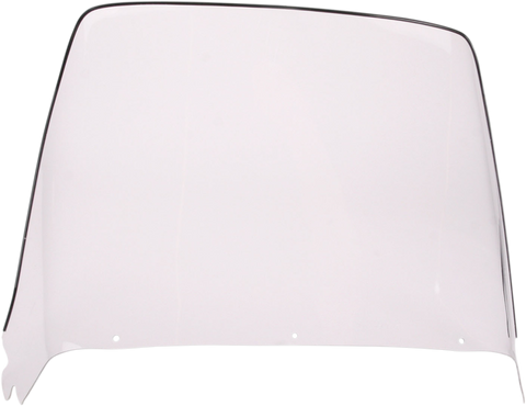 Sno-Stuff 450-417 17.25 Inch Clear Windshield for 1974-77 Ski-Doo Models