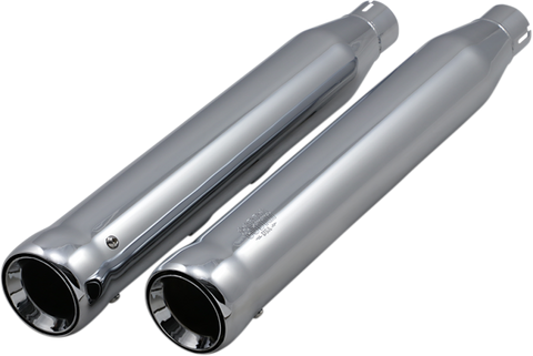 Cobra Neighbor Hater Mufflers for 2005-19 Harley Softails - Chrome - 6042