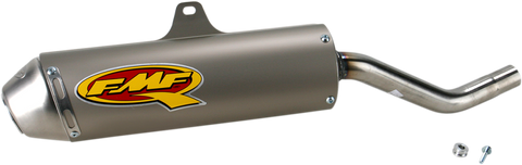 FMF Racing Q4 Slip-On Muffler with SA for Suzuki DR200S / DR200SE - 043236