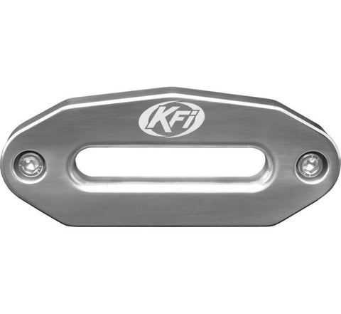 KFI Products Aluminum Hawse Fairlead - 6 Inch Wide Bolt Battern for UTV - Polished - UTV-HAW-POL