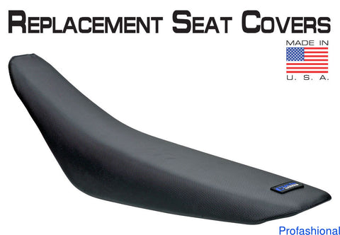 Cycleworks CycleWorks 36-48083-01 Gripper Black Seat Cover for 1983-92 Yamaha YZ80 - 1