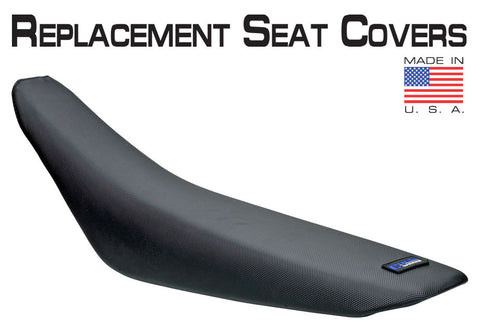 Cycleworks Cycleworks 36-72505-01 Gripper Black Seat Cover for 2005-09 Husqvarna Models - 1