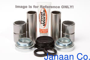 Pivot Works Pivot Works PWSAK-H06-001 Swing Arm Bearing Kit for 1990 Honda CR125R