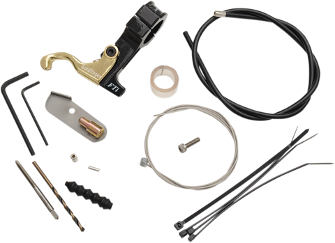 Full throttle Gold Finger Left Hand Throttle Kit for Can-Am ATVs - 007-1011A