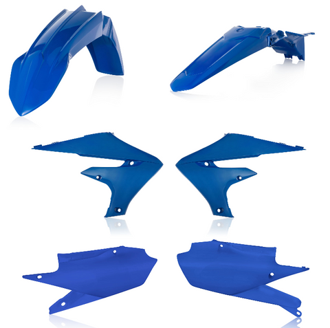 Acerbis Standard Plastic Kit for Yamaha YZ / WRF models - Blue - 2685910003