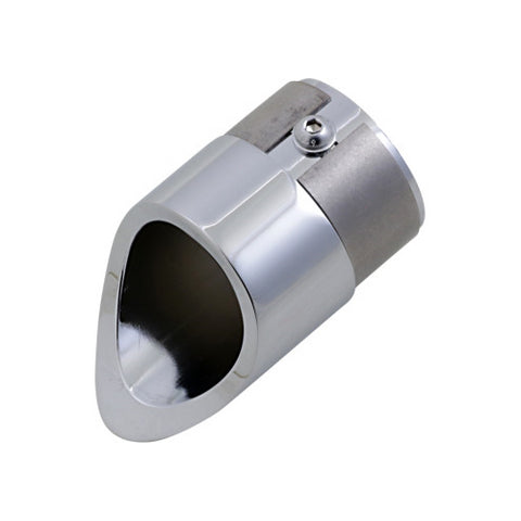 Baron Family Jewel Exhaust Tip for 1999-09 Yamaha - Chrome - BA-1100-02