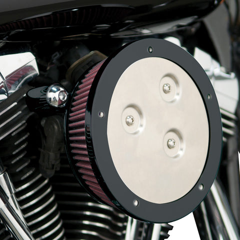 Arlen Ness Derby Sucker Kits for 2000-17 Harley Touring (Excludes TBW) - Black - 18-386