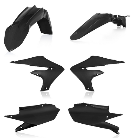 Acerbis Standard Plastic Kit for Yamaha YZ / WRF models - Black - 2685910001