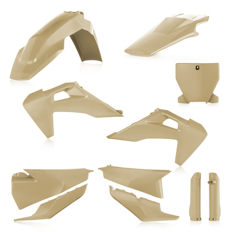 Acerbis Full Plastic Kit for Husqvarna models - Desert Eagle - 2726550021