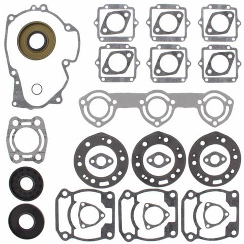 Winderosa - 611801 - Complete Gasket Kit w/ Seals for 1992-95 Polaris SL 650