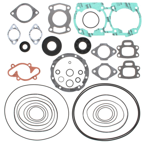 Winderosa 611200 Complete Gasket Kit w/ Seals for 1992-96 Sea Doo 580-White Eng