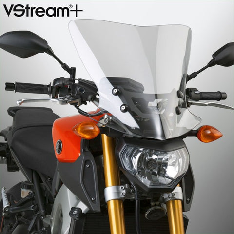 National Cycle N20312 VStream+ Touring Windshield for 2014-16 Yamaha FZ-09