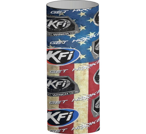 KFI Products Face Mask - Red/White/Blue Flag